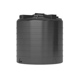 Бак для воды ATV-1000 (черный) с поплавком Акватек
