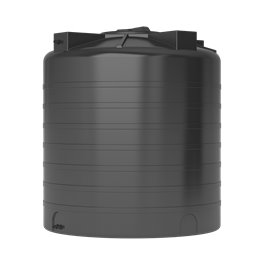 Бак для воды ATV-1500 (черный) с поплавком Акватек