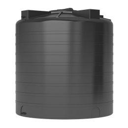 Бак для воды ATV-2000 (черный) с поплавком Акватек