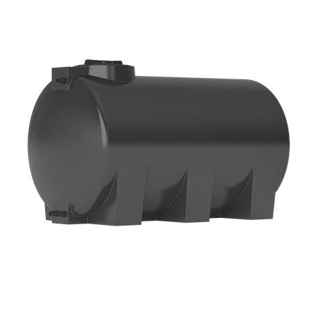 Бак для воды ATH-1000 (черный) с поплавком Акватек