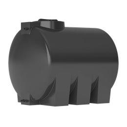 Бак для воды ATH-1500 (черный) с поплавком Акватек