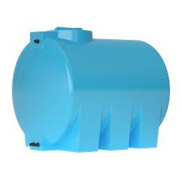 Бак для воды ATH-1500 (синий) с поплавком Акватек