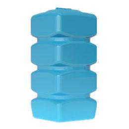 Бак для воды Quadro W-750 (синий) с поплавком Акватек