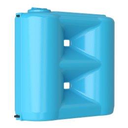 Бак для воды Combi W-1500 ВW (синий) с поплавком Акватек