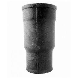 Патрубок чугунный канализационный Ду 100 б/н L450мм ГОСТ 6942-98 компенсационный Кронтиф