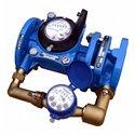 Счётчик х/в комбинированный (крыльчатый и турбинный) ВСХНК Ду 50/20 Ру16 50С L270мм фл Тепловодомер