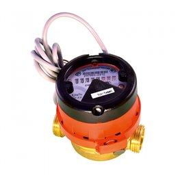 Счётчик г/в крыльчатый одноструйный ВСГд Ду 15 Ру16 95C L80мм резьба импульсный В/К Тепловодомер