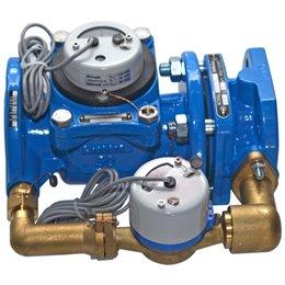 Счётчик х/в комбинированный (крыльчатый и турбинный) ВСХНКд Ду 100/20 Ру16 50С L360мм фл импульсный Тепловодомер