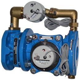 Счётчик х/в комбинированный (крыльчатый и турбинный) ВСХНКд Ду 150/40 Ру16 50С L500мм фл импульсный Тепловодомер
