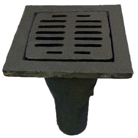 Трап чугунный с вертикальным выпуском квадратный Ду 50 ГОСТ 1811-97