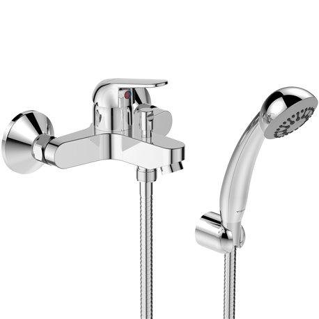 Смеситель для ванны с душем серия FINE одноручный Vidima BA388AA