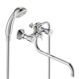Смеситель для ванны с душем серия QUADRO двуручный Vidima BA346AA