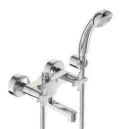 Смеситель для ванны с душем серия ART двуручный Vidima BA328AA