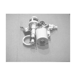 Арматура для смывного керамического бачка универсальная c боковым подводом, штоковая пластк хромированный АБ66.03.14.3