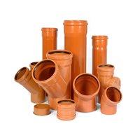 Трубы и соединительные детали ПВХ для наружной канализации